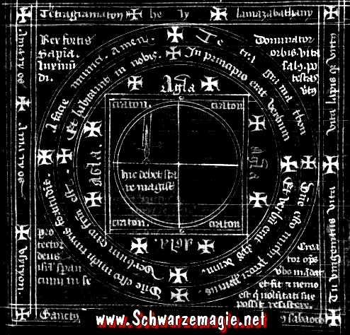 Schutzkreis vor Geistern und Dämonen