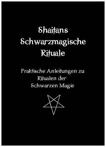 Shaitans Schwarzmagische Rituale Buch