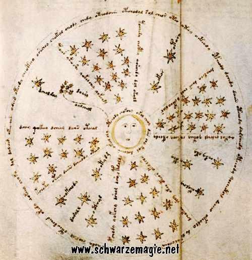 Auszug Voynich Manuskript